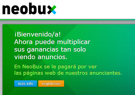 Ganar dinero en internet con neobux