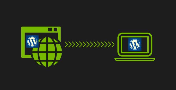 Migrar wordpress de servidor remoto a local